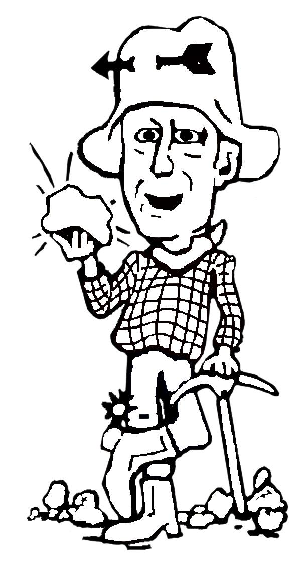 miner coloring pages - photo #5